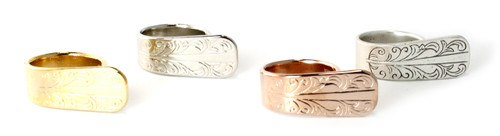 Gold, silver, rose, antique silver plated