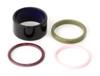 Set of 4 enameled rings