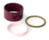 Set of 3 enameled rings