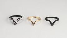 Velma Pave Ring Set: Limited edition