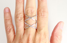 Celestia Ring *Limited Edition*: Seen on Grace Helbig on the cover of her new book!