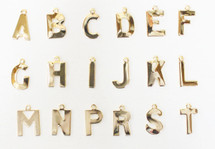 Alphabet Charms - sold individually