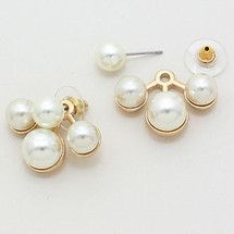 Pearled Ear Jacket Earring *Limited Edition