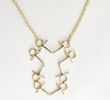 Derby Bib Necklace