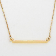Gold Bar Necklace *Limited Edition*
