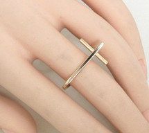 Bar Ring Gold *Limited Edition*