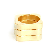Edge Of Nowhere Ring Set -more colors: Seen in Cosmo for Latinas!