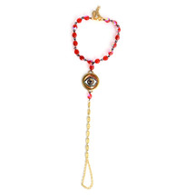 Evil Eye Handchain -more colors: Seen on Elshane!