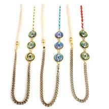 Evil Eye Wrap Bracelet/Necklace