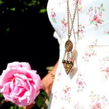 Gypsy Lover Long Necklace -more colors: Seen on Republic of Rose!