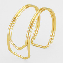 Gold Wire Cuff *Limited Edition*: Seen in Stylewatch!