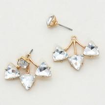 Delta Ear Jacket Earrings Gold *Limited Edition*