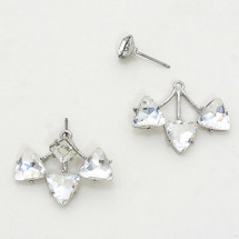 Delta Ear Jacket Earring Silver *Limited Edition*