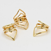 Delta Ring Set Gold *Limited Edition*