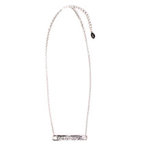 Horizontal Line Necklace -more colors: Seen in Family Circle!