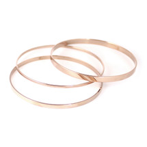Ellipse Bangle Set -more colors