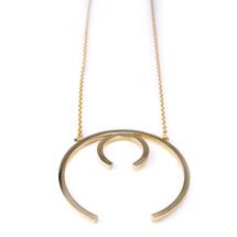 Ellipse Long Double Necklace -more colors