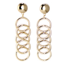 Ara Linear Earring -more colors: Seen in Accessories Magazine Trend Finder!