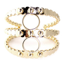 Ara Triple Studded Cuff -more colors: Seen on Glam Latte!