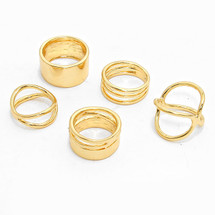 Gold Rush Ring Set *Limited Edition*