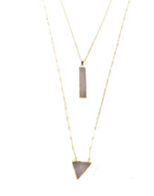 To The Point Layered Necklace
