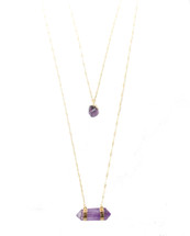 Violet Hour Layered Necklace