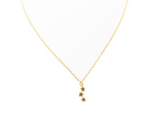 Tiny Stars Choker Gold