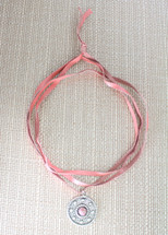 Elaine Choker Pink: Seen on Miss Zias!