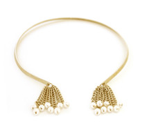 Pearled Collar Gold