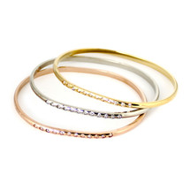 Around And Back Bangle Set