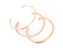 Wanderlust Cuff Set Rose: Seen in Oprah!