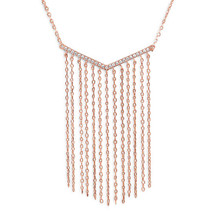 Rosie Fringe Necklace (sterling)