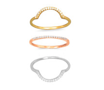 Orbitol Stacking Ring Set (sterling)