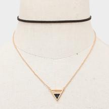 Triangle Wrap Choker