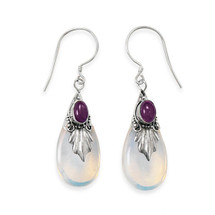 Amethyst Dreamer Earrings *Sterling Silver*
