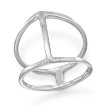 Center Bar Ring *Sterling Silver*