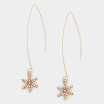 Snowflake Earrings *Limited Edition*