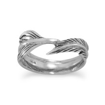 Feather Wrap Ring *Sterling Silver*