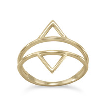 Double Triangle Ring *Sterling Silver*