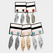 Feathered Earrings *Limited Edition*