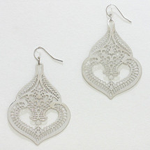 Silver Filigree Earrings *Limited Edition*