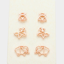 Rosey Animals Earring Set *Limited Edition*