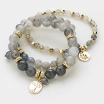 Grey Bracelet Stack *Limited Edition* SOLD OUT!