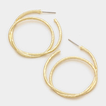 Coiled Hoop Earrings *Limited Edition*