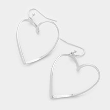 Heart Drop Earrings *Limited Edition*
