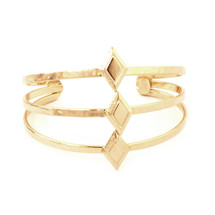 Diamond Sky Cuff -Gold