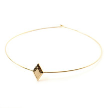 Diamond Sky Collar -Gold: Seen on Daya!