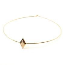 Diamond Sky Collar -Gold: Seen on Daya!
