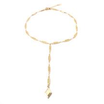 Diamond Sky Lariat -Gold