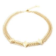 Diamond Sky Choker-Gold